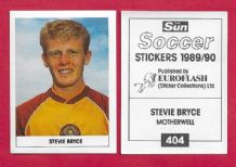 Motherwell Stevie Bryce 404